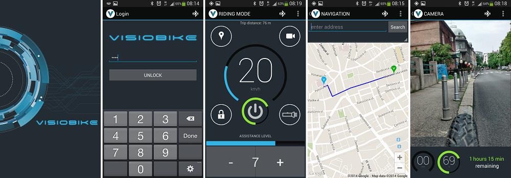 Ebike app control system