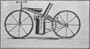 steam-engine velocipede 1867