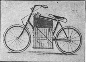 second steam-engine velocipede, 1884