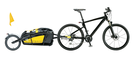 cargo ebike with trailer