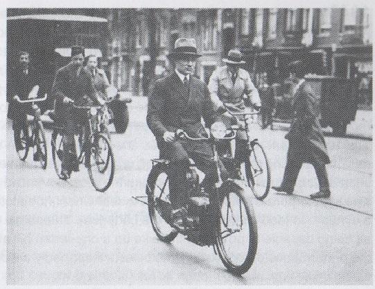Philips Simplex 1932 ebike