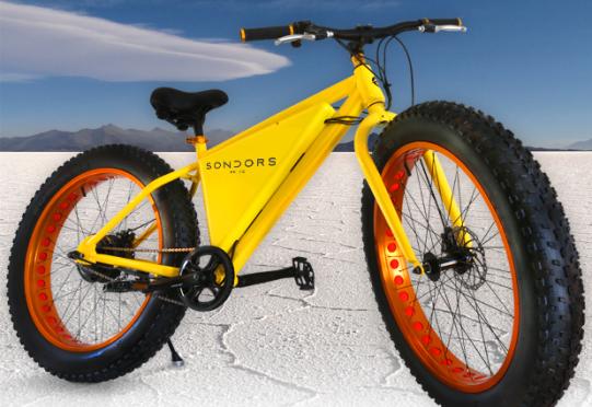 Electric Fat Bike Storm Sondors