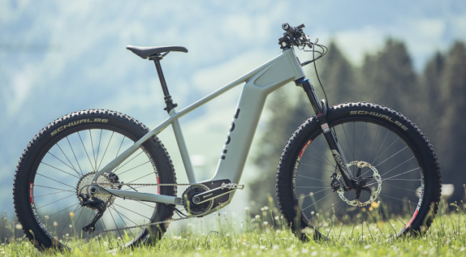rose electric mountain bike