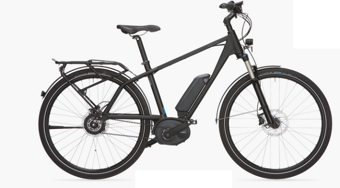 ebike with automatic gear shifting