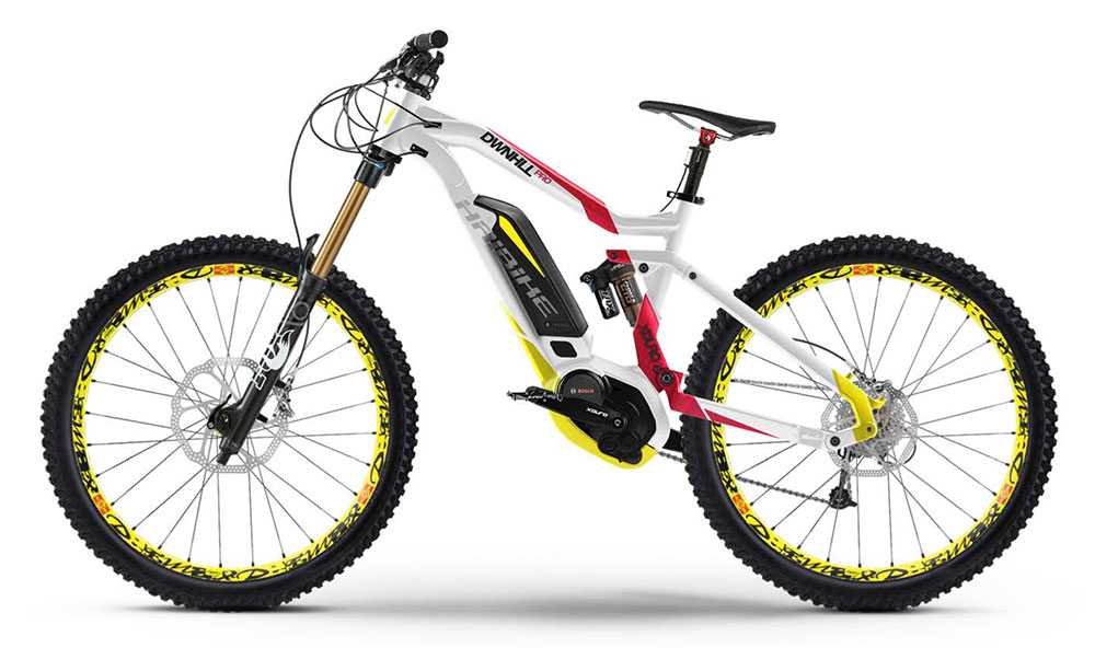 electric mountain bike haibike xduro downhill pro