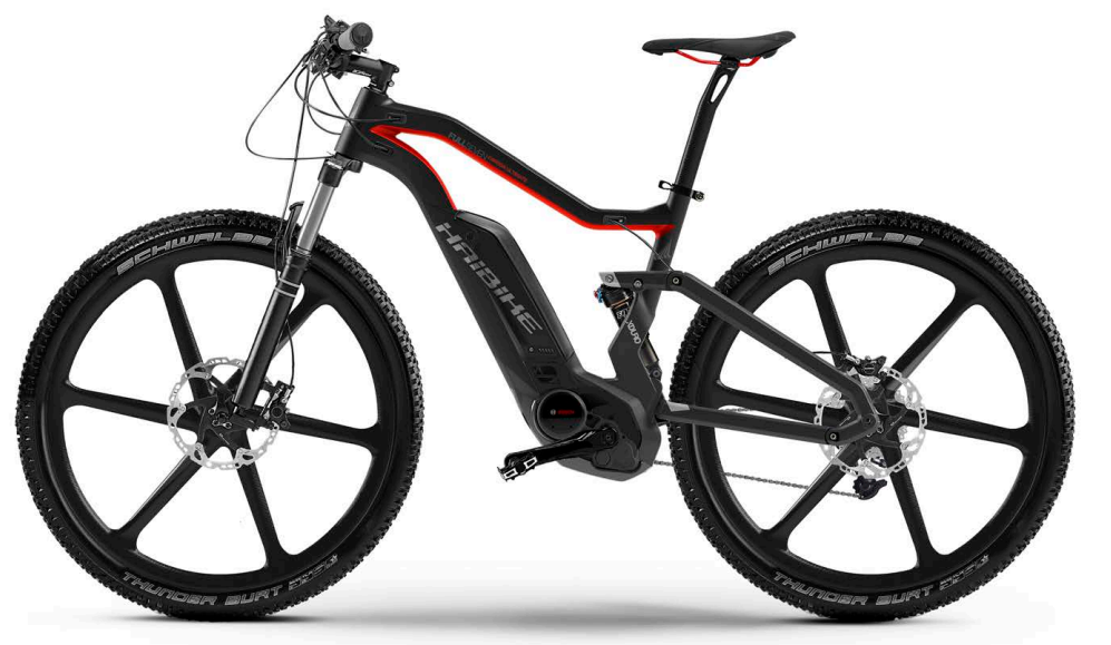 electric mountain bike haibike xduro fullseven carbon ultimate