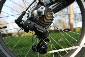 ebike chain and derailleur