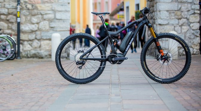 Shimano STEPS E8000: the motor for 2017 electric mountain bikes