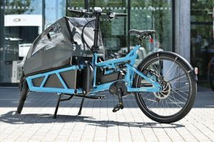 bosch ebike on cargo bike
