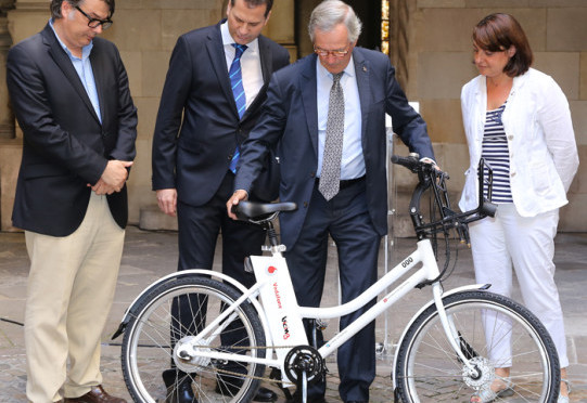 Bicing Electrico, electric bike sharing service starts in Barcelona