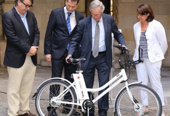 bicing, ebike sharing in Barcelona