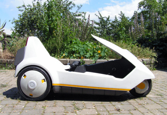 Sinclair C5: Electric assisted pedal tricycle of the Eighties